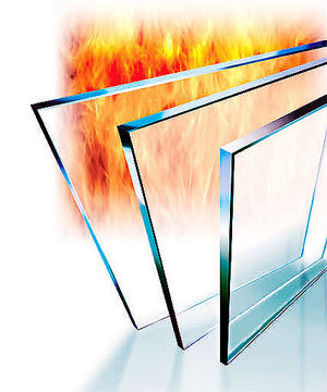 12mm Monolithic Non-Isolated Thermal Fire Glass—Nanfei Brand
